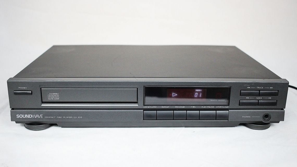 Odtwarzacz CD SOUNDWAVE CD-205