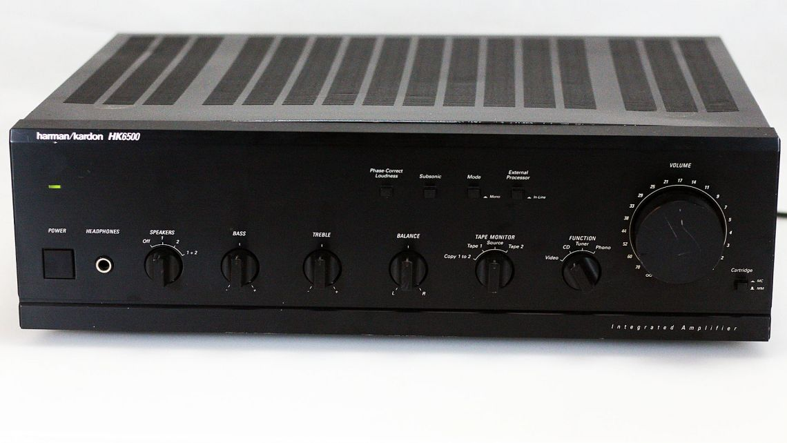 Stereo amplifier HARMAN KARDON HK6500