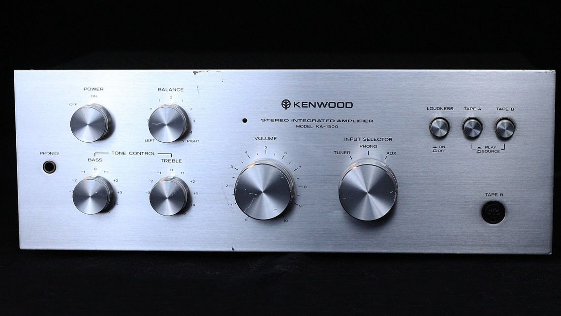 KENWOOD amplifier KA-1500